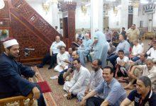 درس العصر فى مسجد السيدة نفيسة